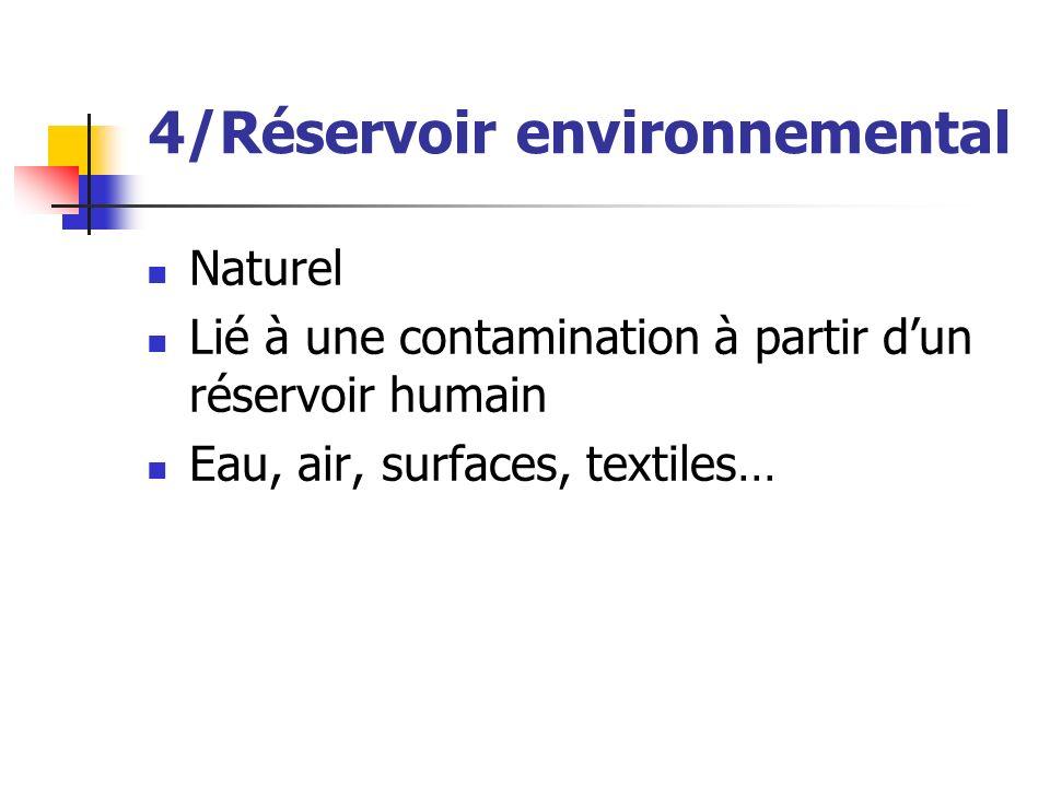 4/Réservoir environnemental