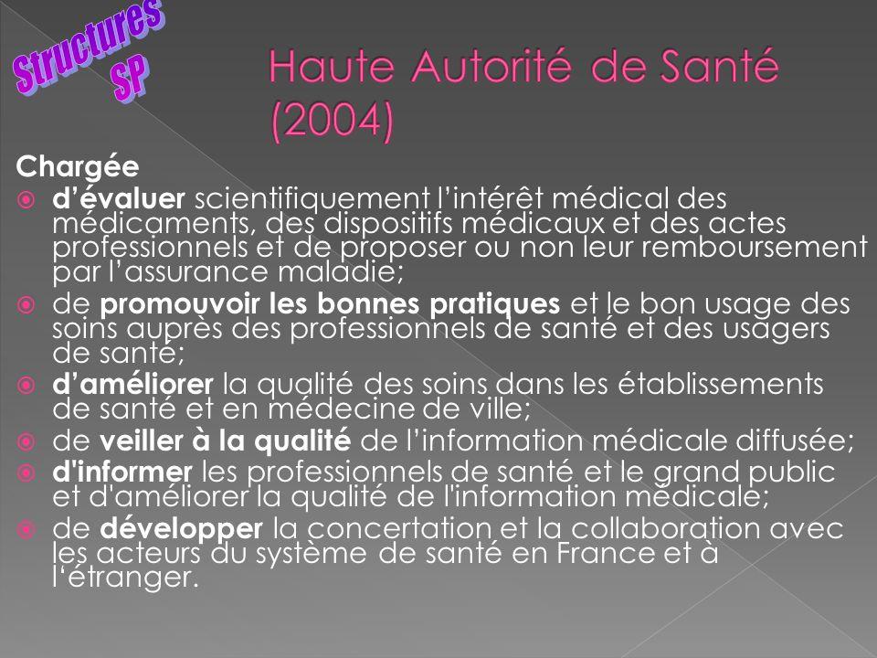 Haute Autorité de Santé (2004)