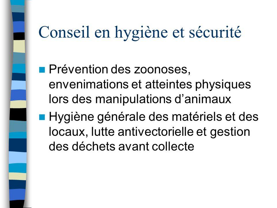Conseil en hygiène et sécurité