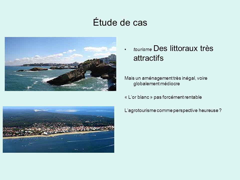 Étude de cas tourisme Des littoraux très attractifs