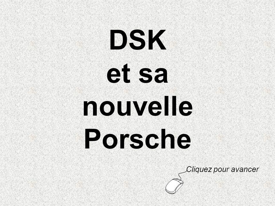 DSK et sa nouvelle Porsche