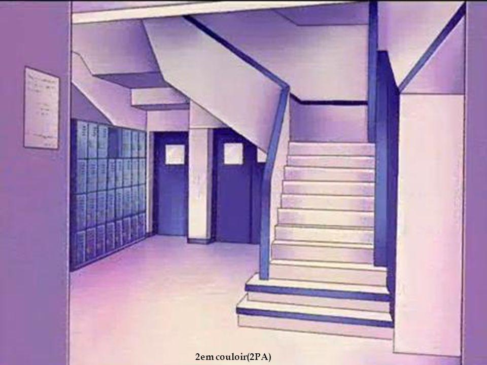Les escaliers 2em couloir(2PA)