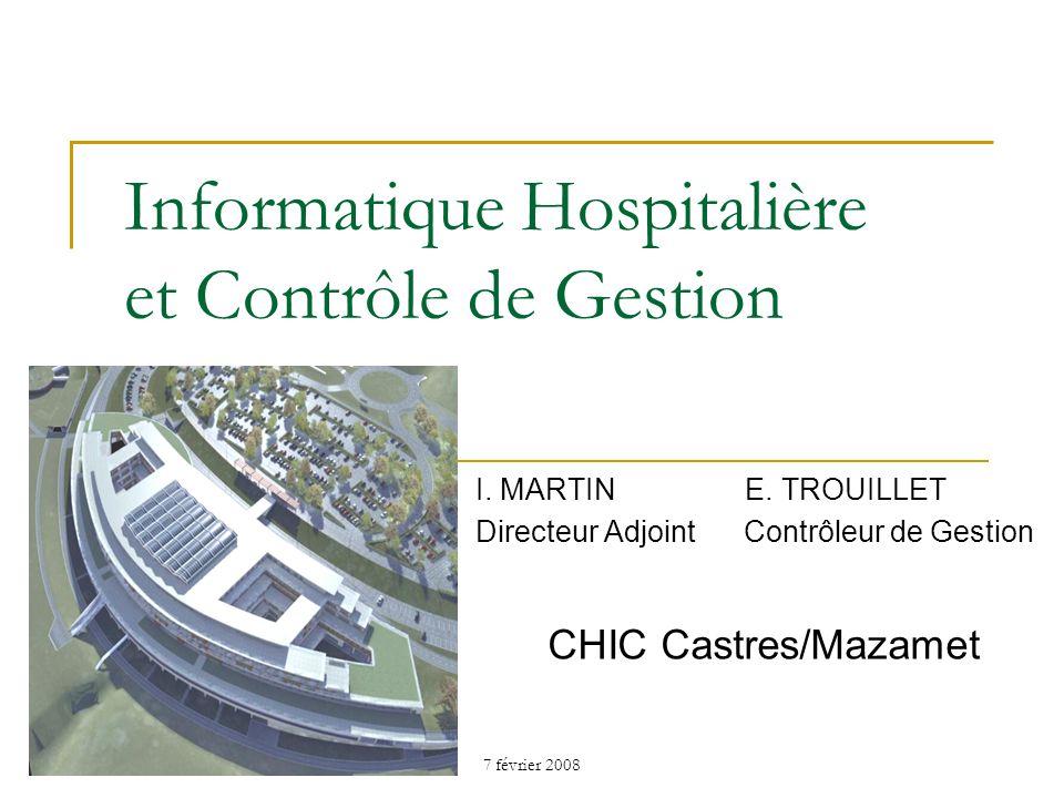 Informatique Hospitalière et Contrôle de Gestion