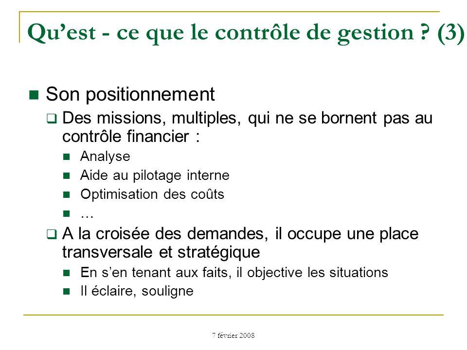 Qu'est - ce que le contrôle de gestion (3)