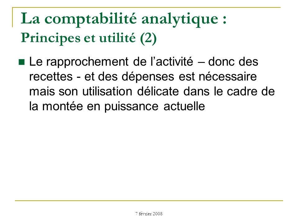 La comptabilité analytique : Principes et utilité (2)