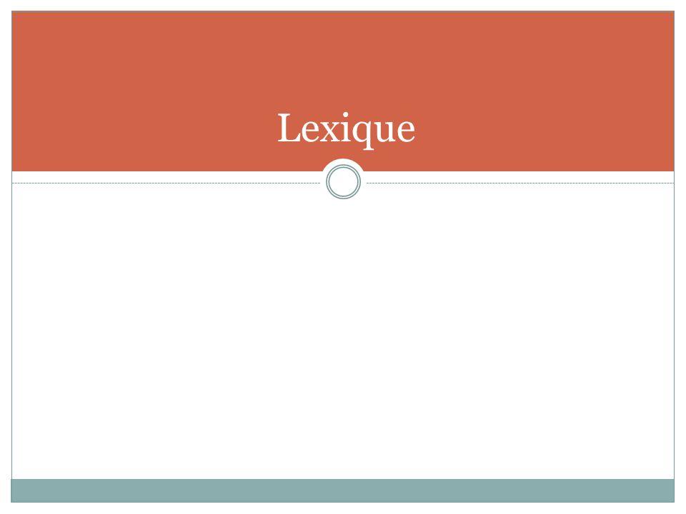 Lexique Service de la FP