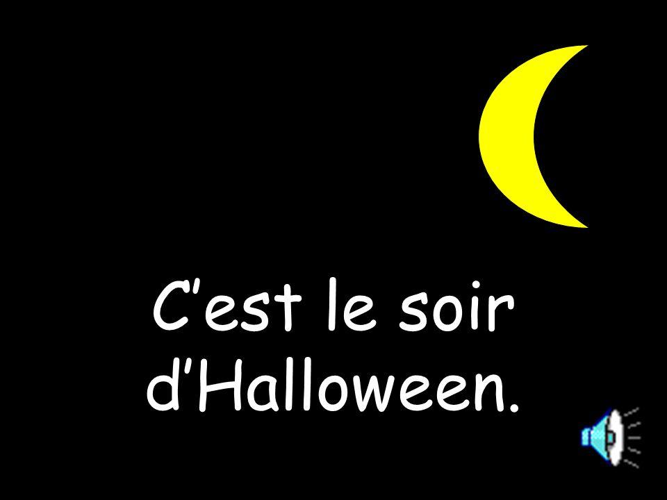 C'est le soir d'Halloween.