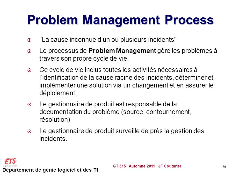 Problem Management Process