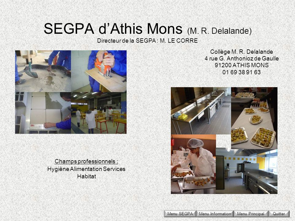 SEGPA d'Athis Mons (M. R. Delalande)