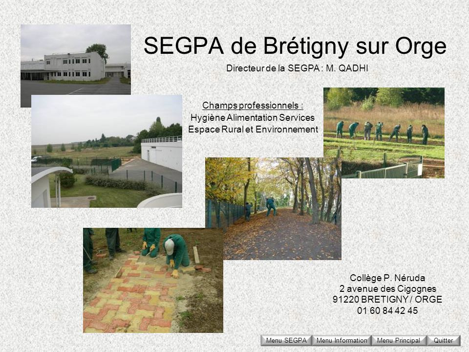 SEGPA de Brétigny sur Orge