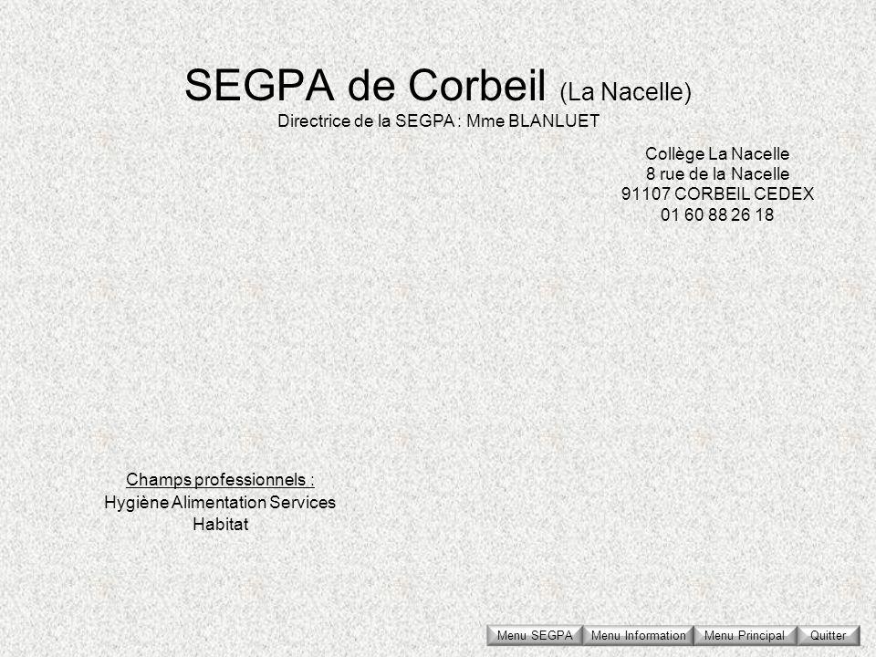 SEGPA de Corbeil (La Nacelle)