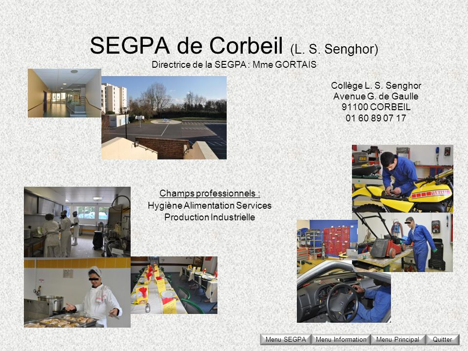 SEGPA de Corbeil (L. S. Senghor)