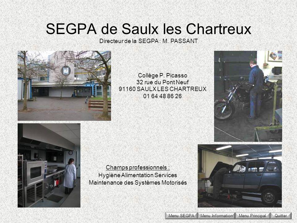 SEGPA de Saulx les Chartreux