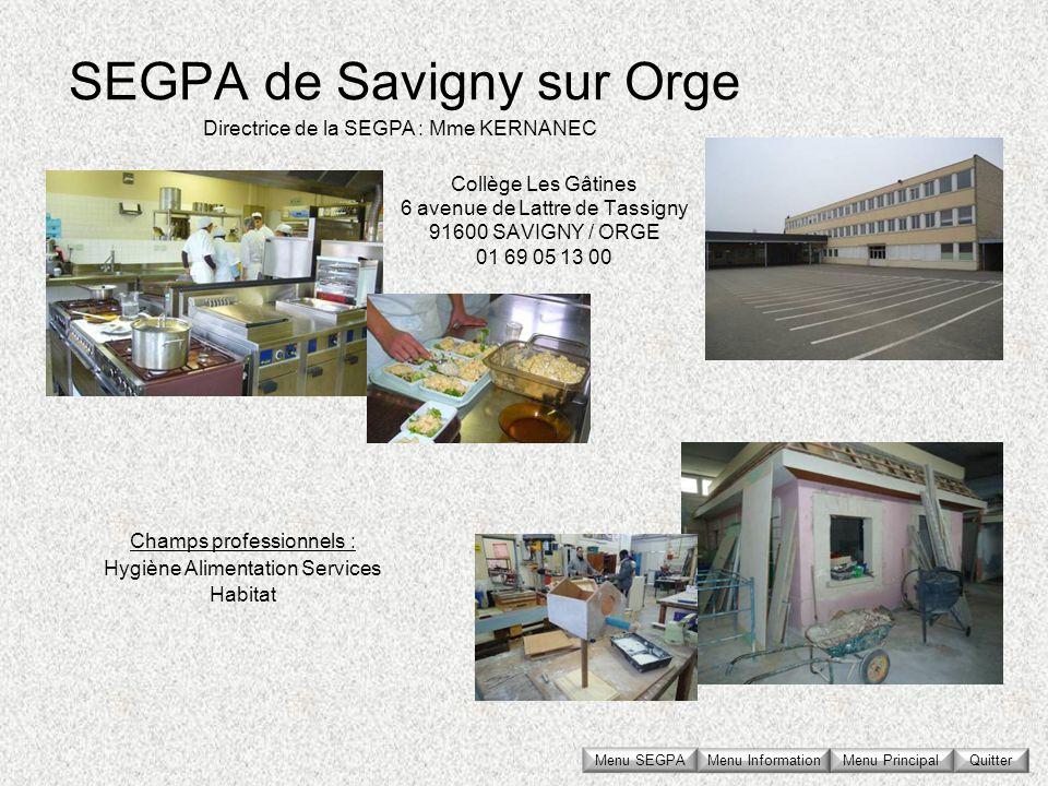 SEGPA de Savigny sur Orge