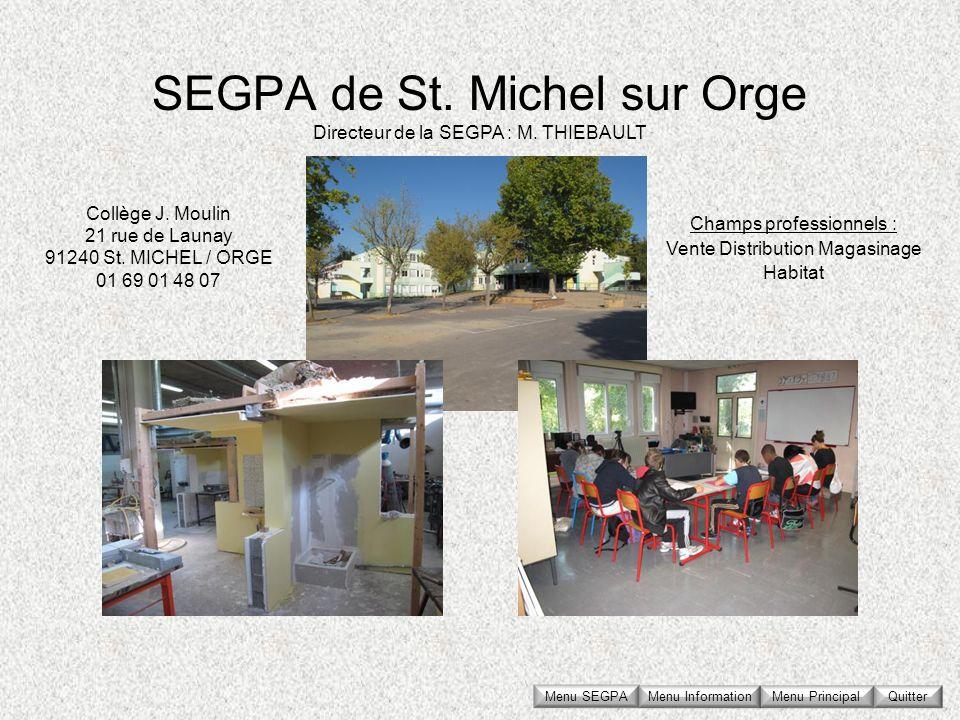 SEGPA de St. Michel sur Orge