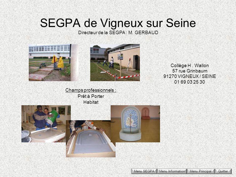 SEGPA de Vigneux sur Seine