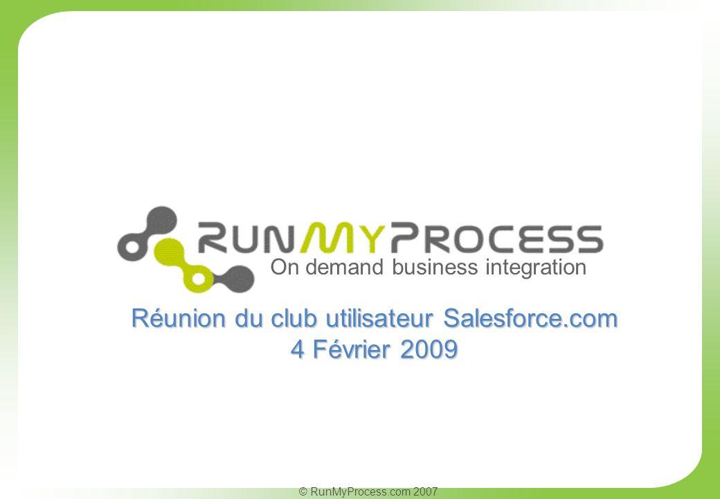 Réunion du club utilisateur Salesforce.com
