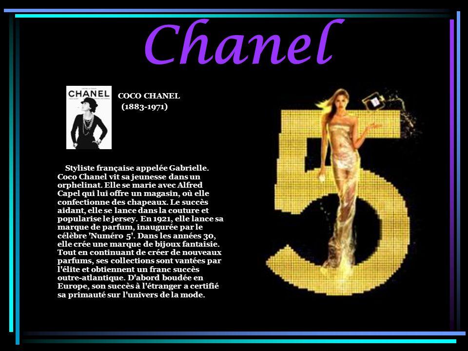 Chanel COCO CHANEL. (1883-1971)