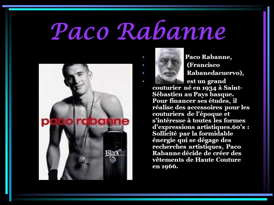 Paco Rabanne Paco Rabanne, (Francisco Rabanedacuervo),