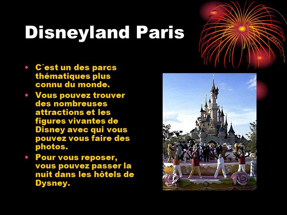 Disneyland Paris C´est un des parcs thématiques plus connu du monde.