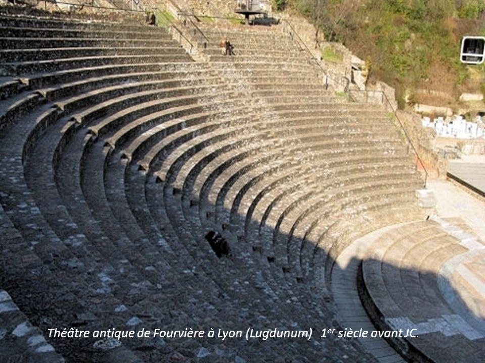 Théâtre antique de Fourvière à Lyon (Lugdunum) 1er siècle avant JC.