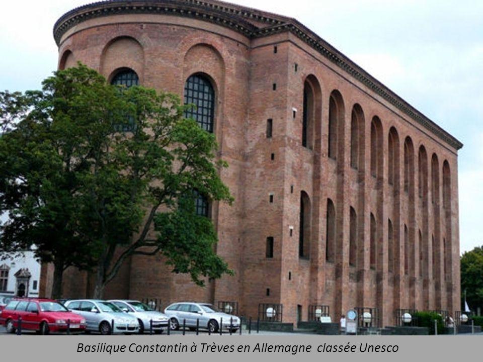 Basilique Constantin à Trèves en Allemagne classée Unesco