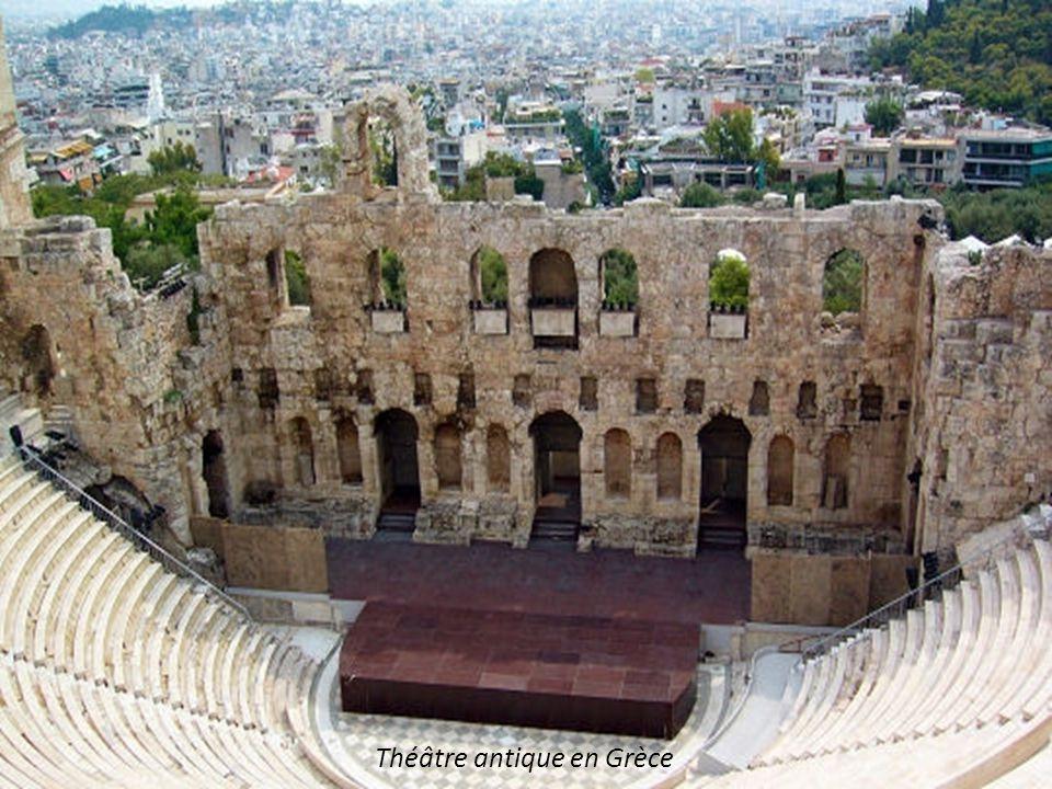 Théâtre antique en Grèce