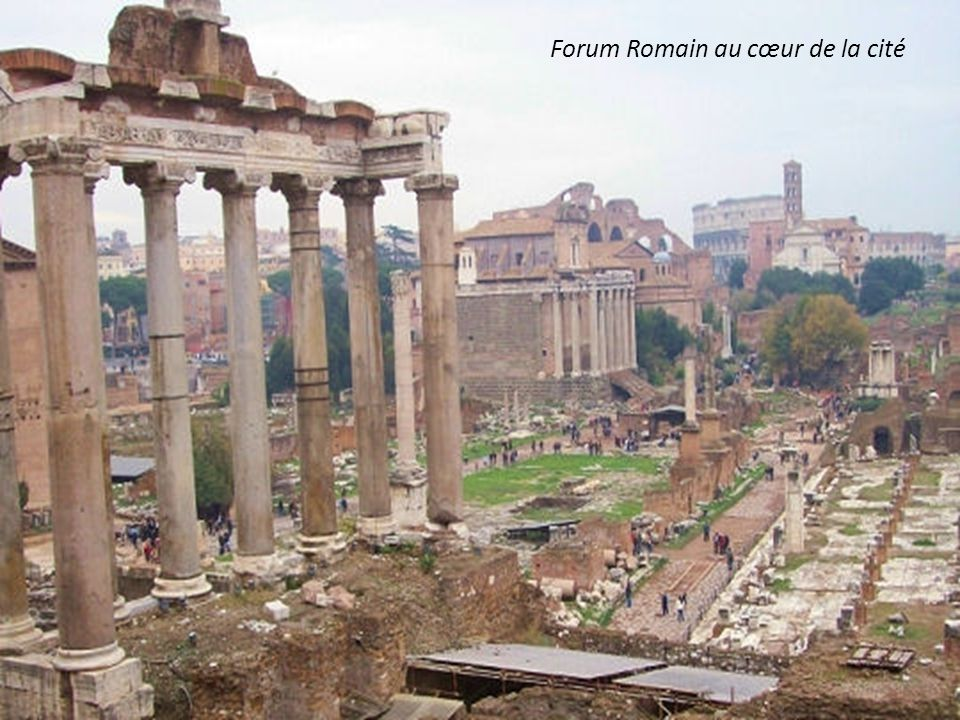 Forum Romain au cœur de la cité