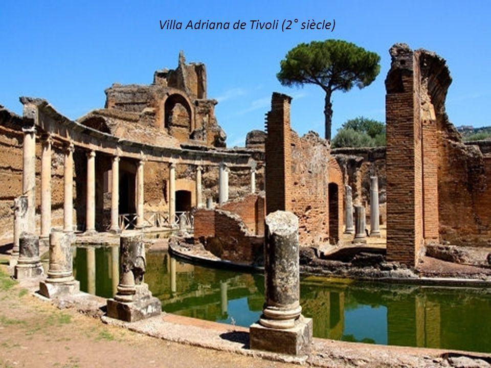 Villa Adriana de Tivoli (2° siècle)