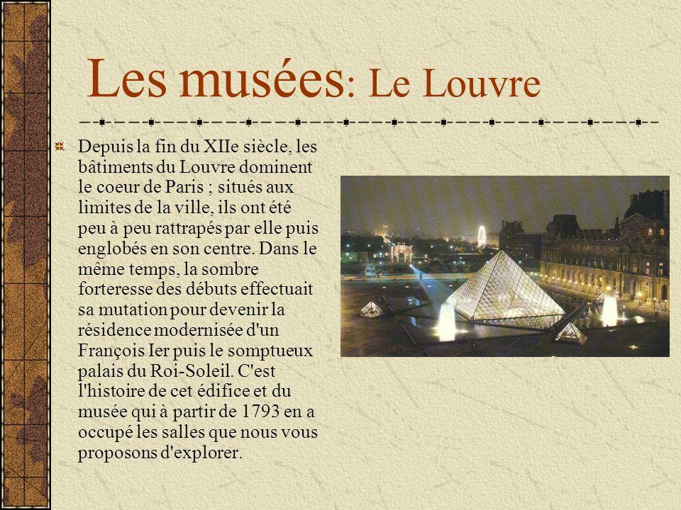 Les musées: Le Louvre