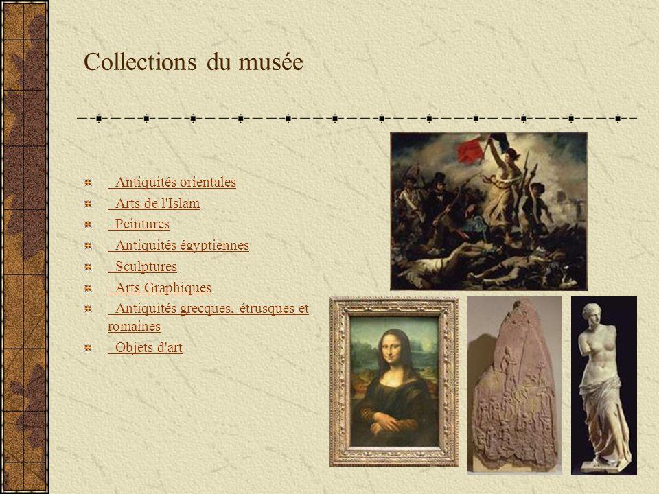 Collections du musée Antiquités orientales Arts de l Islam Peintures