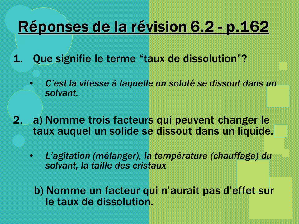 Réponses de la révision 6.2 - p.162