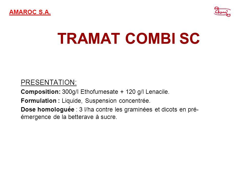 TRAMAT COMBI SC PRESENTATION: AMAROC S.A.