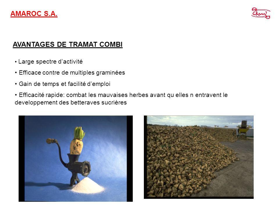 AVANTAGES DE TRAMAT COMBI
