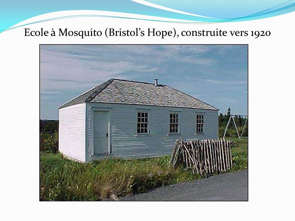 Ecole à Mosquito (Bristol's Hope), construite vers 1920