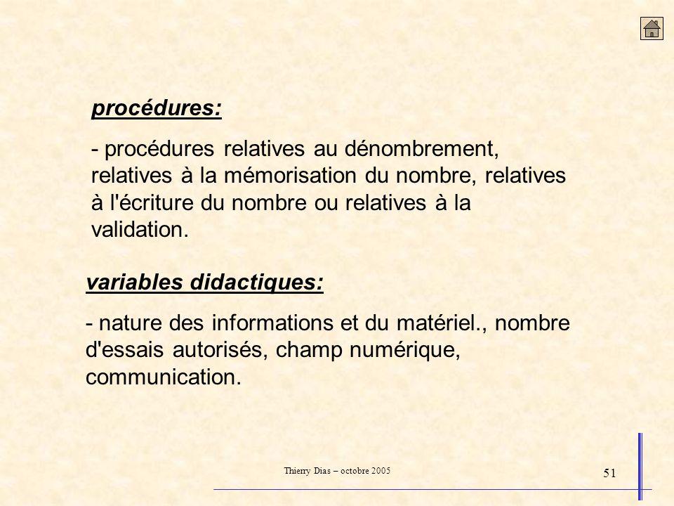 variables didactiques: