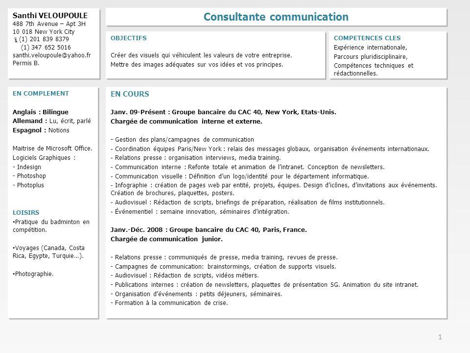 consultante communication
