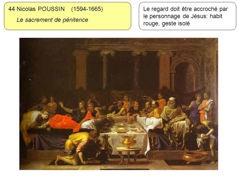 44 Nicolas POUSSIN (1594-1665) Le sacrement de pénitence.