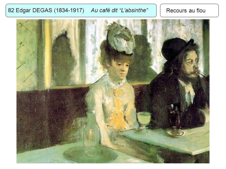 82 Edgar DEGAS (1834-1917) Au café dit L'absinthe