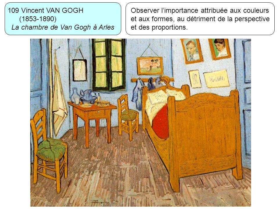 109 Vincent VAN GOGH (1853-1890) La chambre de Van Gogh à Arles.