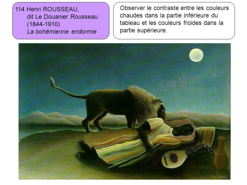 114 Henri ROUSSEAU, dit Le Douanier Rousseau. (1844-1910) La bohémienne endormie.