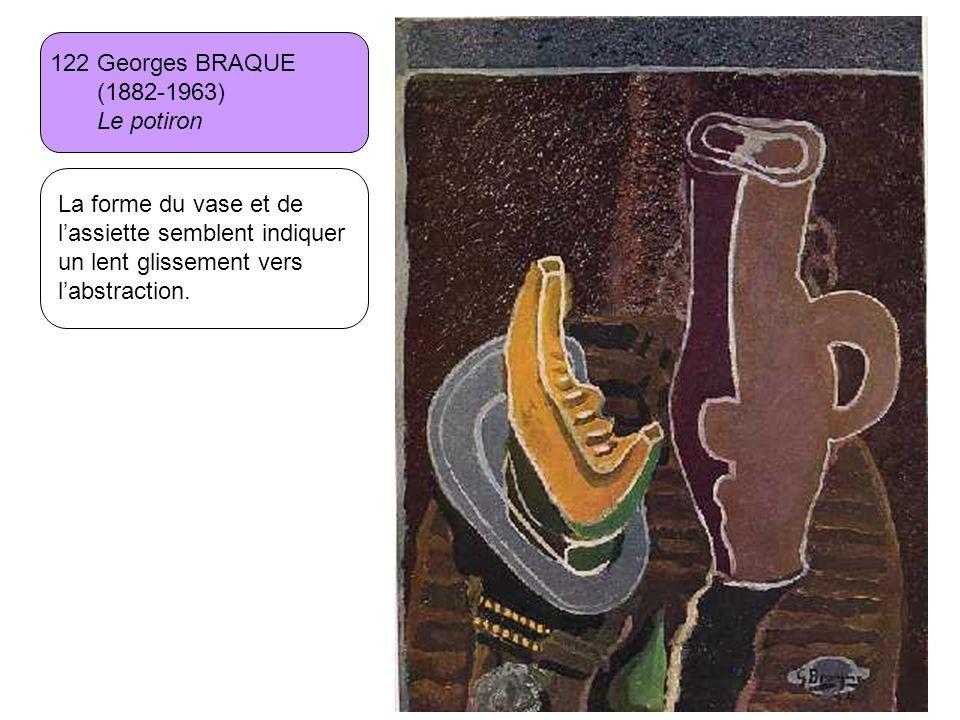 122 Georges BRAQUE (1882-1963) Le potiron.