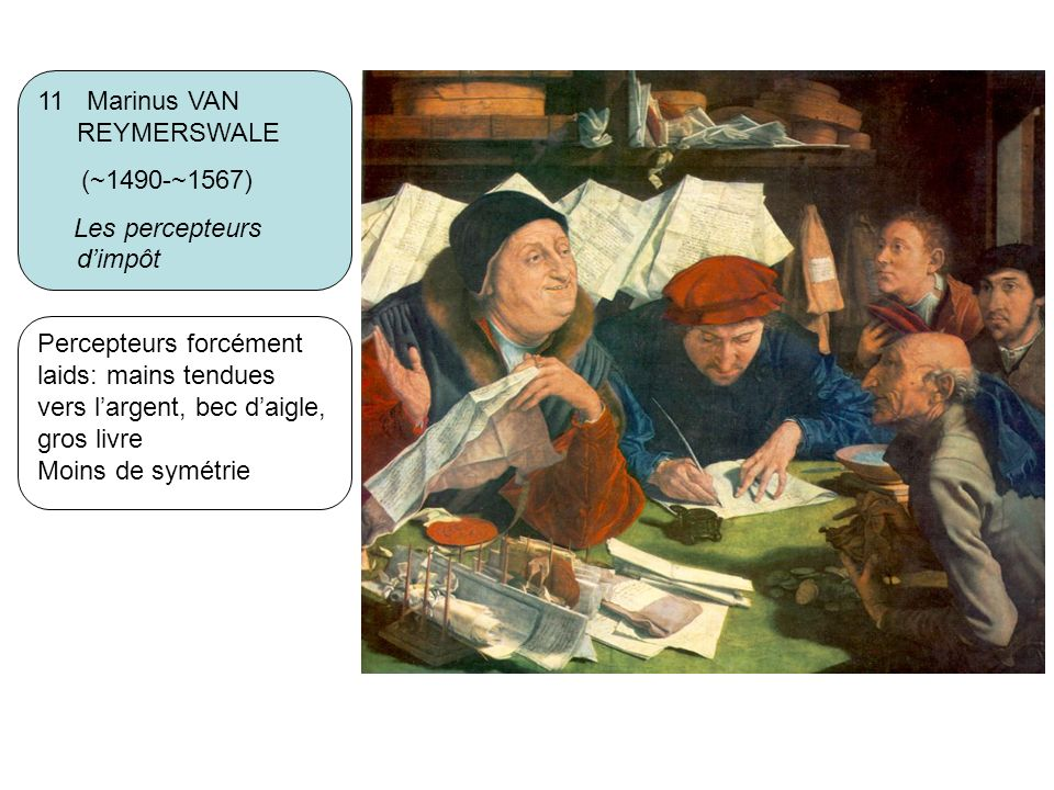 11 Marinus VAN REYMERSWALE
