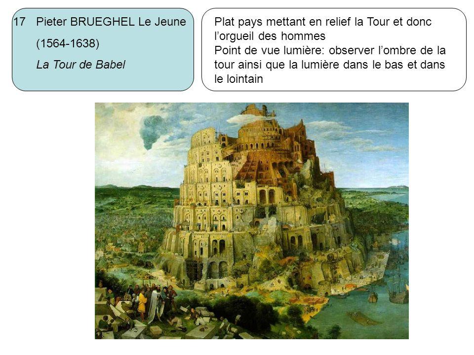 17 Pieter BRUEGHEL Le Jeune