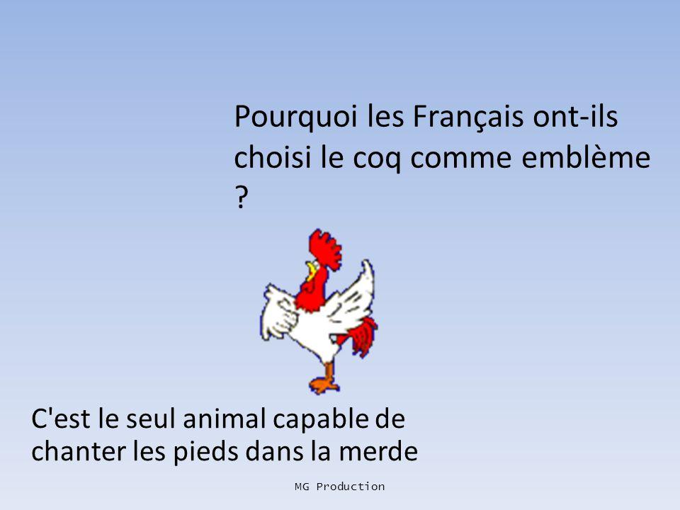 Pourquoi les Français ont-ils choisi le coq comme emblème