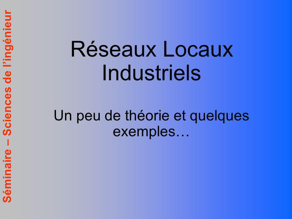 Réseaux Locaux Industriels