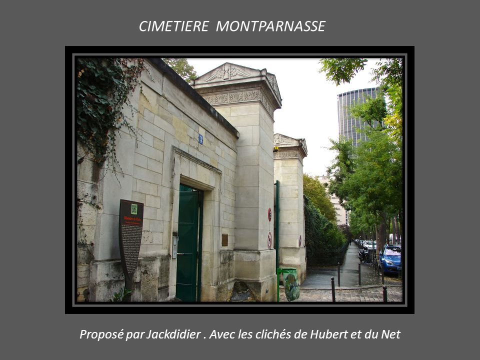 CIMETIERE MONTPARNASSE