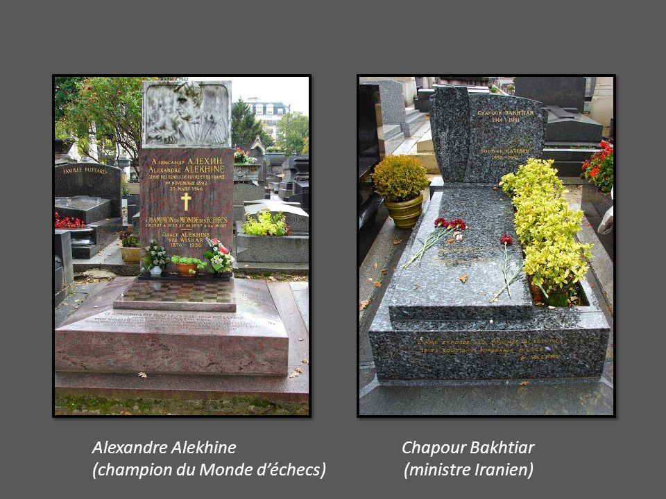 Alexandre Alekhine Chapour Bakhtiar