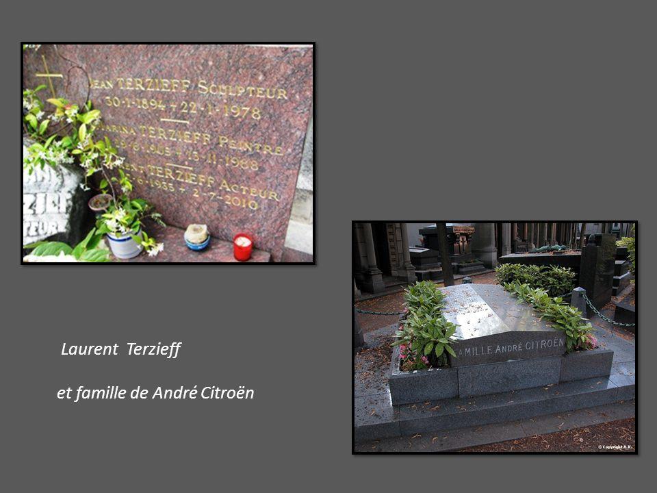 Laurent Terzieff et famille de André Citroën