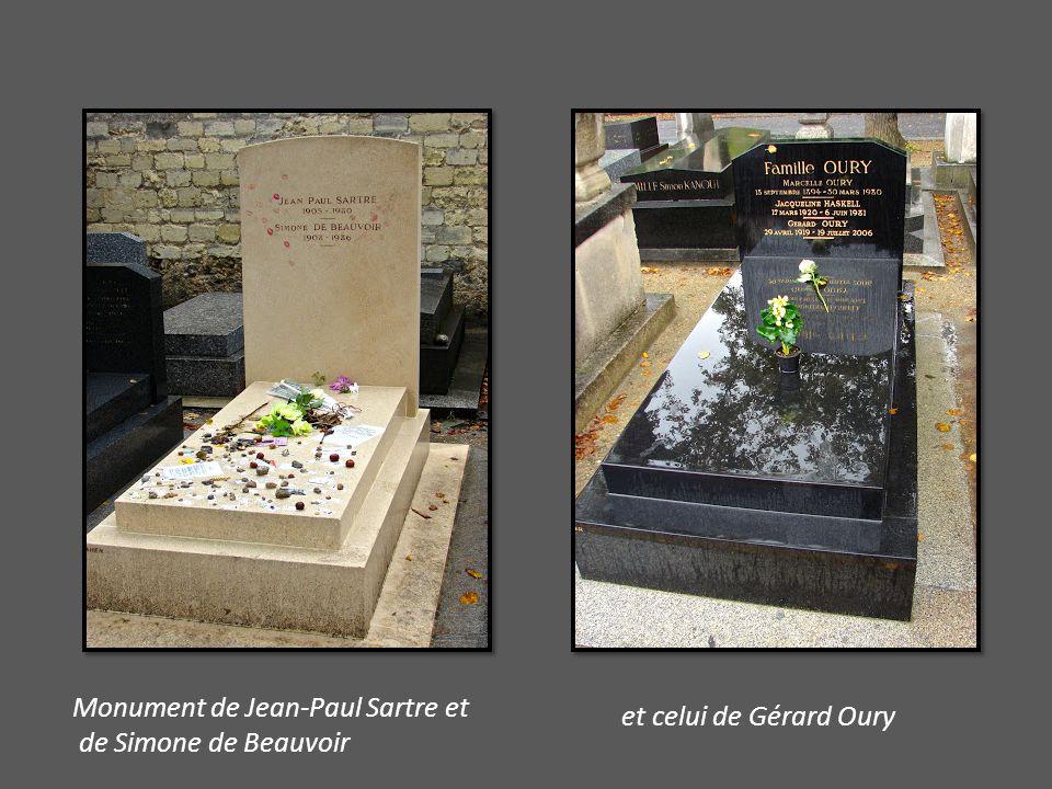 Monument de Jean-Paul Sartre et